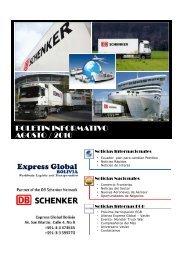 Boletin - Agosto 201.. - Express Global