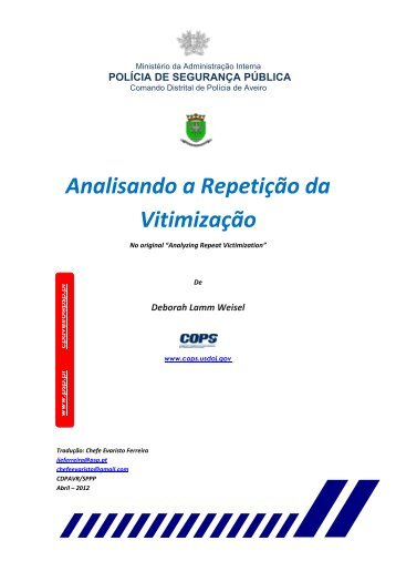 Portuguese - Center for Problem-Oriented Policing