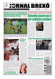 Osmando assume que é pré-candidato a estadual - Jornal Brexó