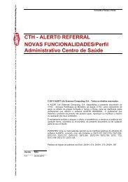 Perfil administrativo centro de saúde - ACSS