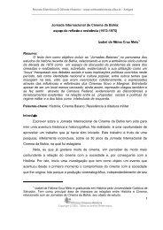 Jornada Internacional de Cinema da Bahia - O Olho da História