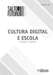 CULTURA DIGITAL E ESCOLA - TV Brasil