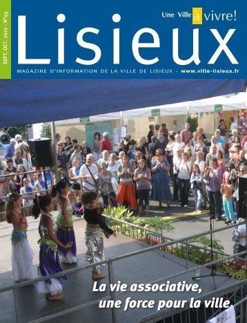 La vie associative, une force pour la ville - Lisieux