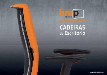 Cadeiras Catálogo com todas as soluções de cadeiras para ... - HMP