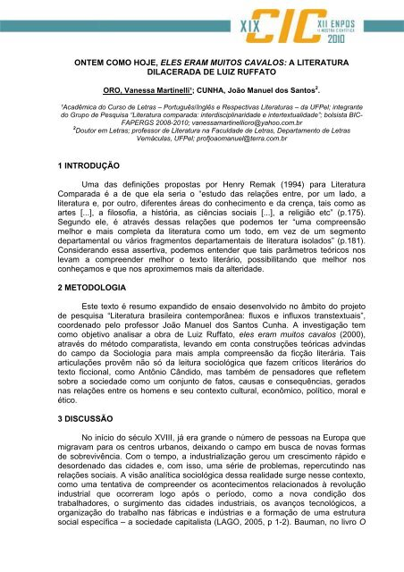 CAVALOS RUFFATO LUIZ ELES ERAM BAIXAR MUITOS DE