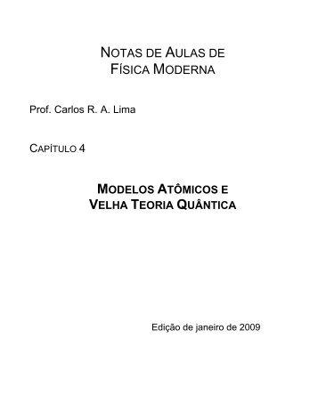 Capítulo IV - Departamento de Física UFJF