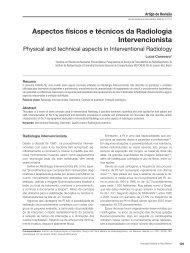 Aspectos físicos e técnicos da Radiologia Intervencionista - ABFM
