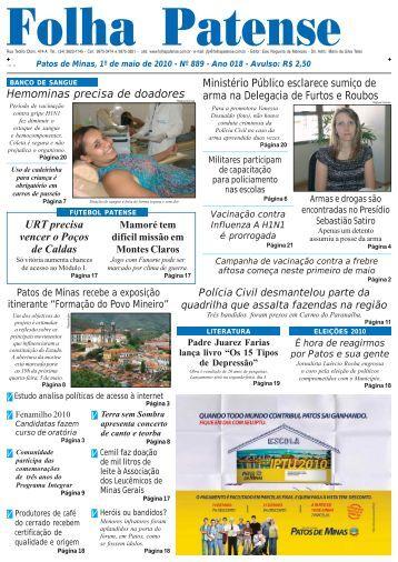 nº 889 - Folha Patense