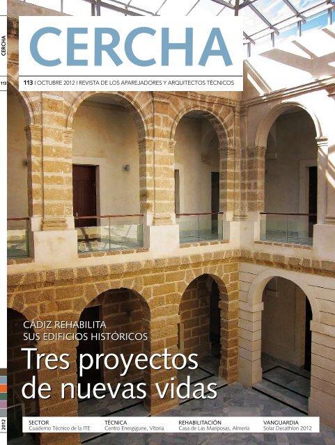 Revista - Consejo general de arquitectura técnica de España