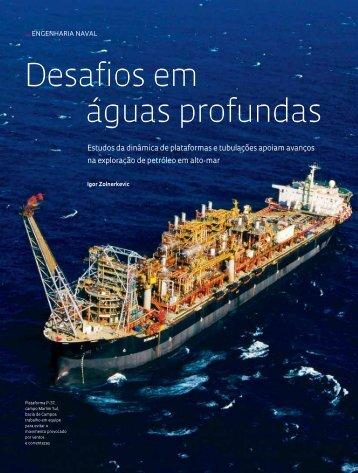 Desafios em águas profundas - Revista Pesquisa FAPESP