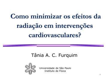 Como minimizar os efeitos da radiação em intervenções ... - SBHCI