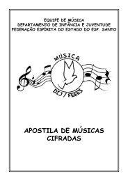 MOFRA, Movimento da Fraternidade - Músicas, Hinos e Cifras 1