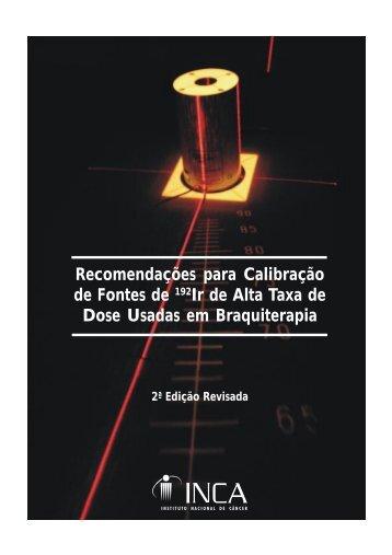 manual PQRT recomendações para calibraçao - Instituto Nacional ...