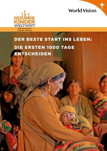 Die ersten 1'000 Tage - World Vision Schweiz