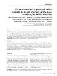 Espectrometria Compton aplicada à medição de doses em ...
