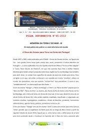 FOLHA INFORMATIVA Nº45-2012