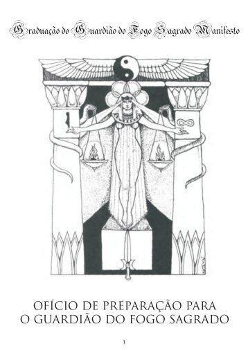 Ritual de Sagração do Guardião do Fogo Sagrado - Flor da Alma