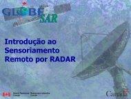 Introdução ao Sensoriamento Remoto por RADAR - GeoGratis