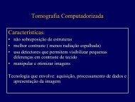 Tomografia Computadorizada Características: Características: - Docs