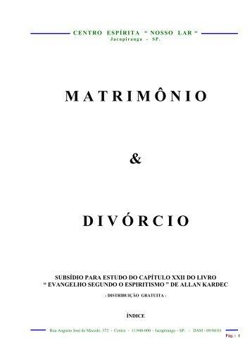 [#0835] Matrimônio - apostila - cvdee