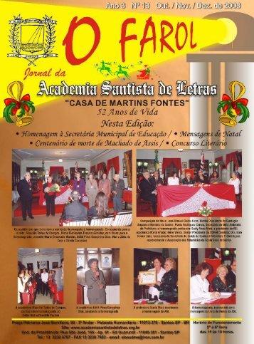 O FAROL - Academia Santista de Letras