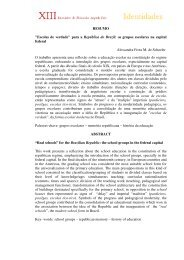 Alessandra Frota Martinez de Schueler - XIII Encontro de História ...