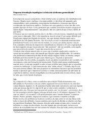 Pequena introdução topológica à clínica do sinthoma ... - litura
