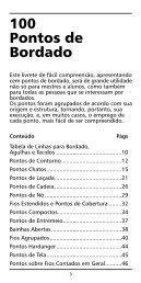 100 Pontos de Bordado - Coats Crafts Brasil