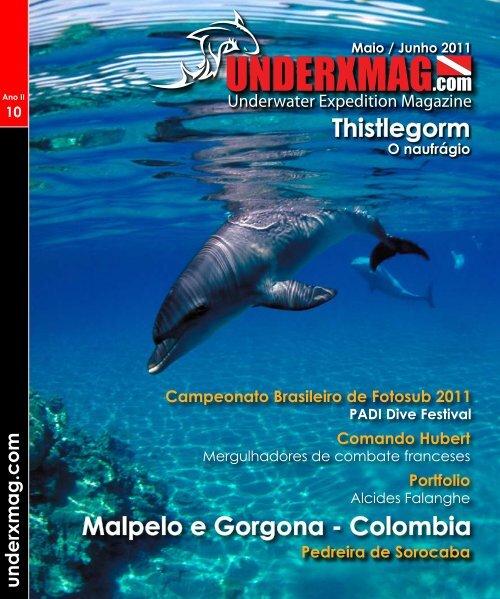 Underxmag edição 10 - Sua revista de mergulho digital 100% gratuita