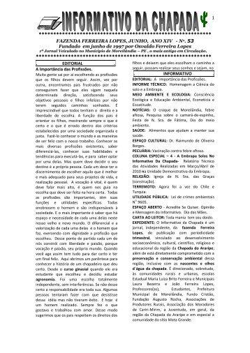 Edição n° 53 (909 KB) - Embrapa Solos / UEP Recife