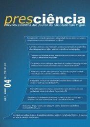 Revista Presciência nº 04 - Faculdade São Miguel