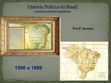 História Política do Brasil - UP :: Centro Educacional