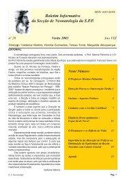 Verão 2003 - Secção de Neonatologia SPP - Home