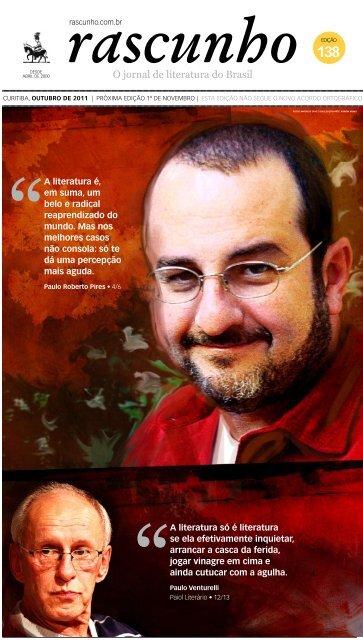 Edição 138 - Jornal Rascunho