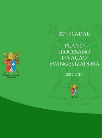 22º plaede - Diocese de Apucarana