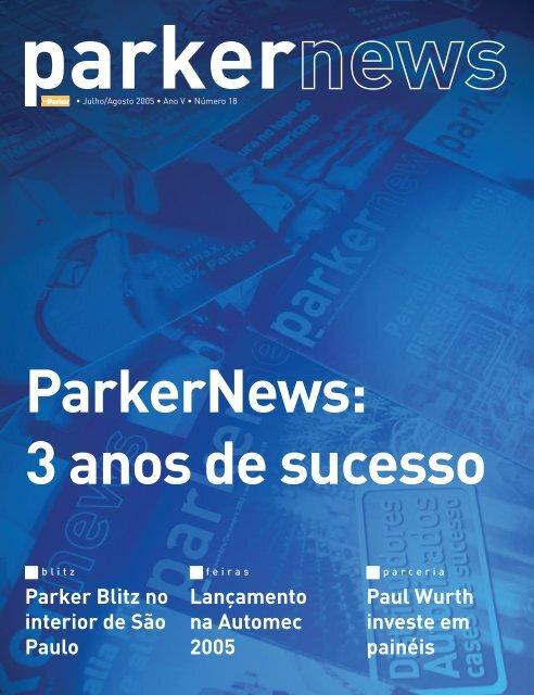 Lançamento na Automec 2005 Parker Blitz no interior ... - Parker News