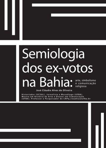 Semiologia dos ex-votos na Bahia - Faculdade Social