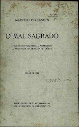 O MAL SAGRADO - Repositório Aberto da Universidade do Porto