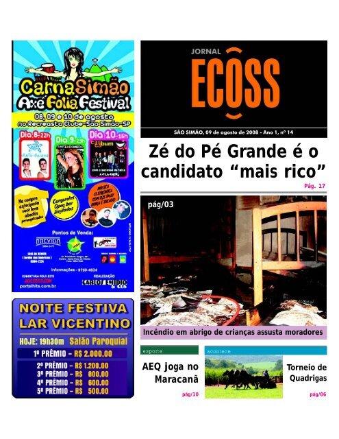 Jornal Ecoss Edição Nº 14 - Ogawa Butoh Center