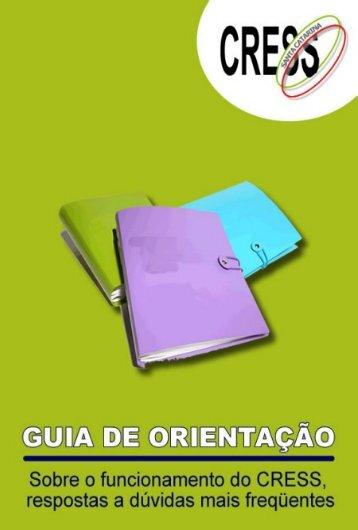 apresentação - Conselho Regional de Serviço Social