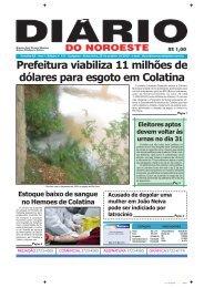 Prefeitura viabiliza 11 milhões de dólares para esgoto em Colatina