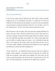 """""""Vida e Morte de Antônio Dó"""". - Eliana Cardoso"""