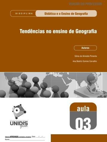 AULA3 Tendências no ensino de Geografia - geoplan