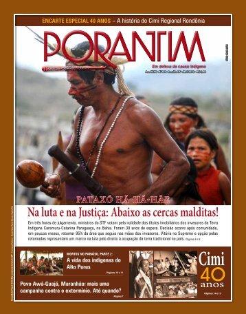 Jornal Porantim-edição nº 344 - Cimi