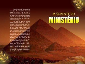 06 - A Semente do Ministério - A Palavra de Deus e de Graca