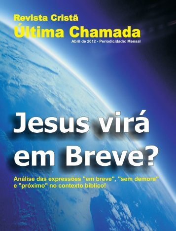 Abril de 2012.cdr - Revista Cristã Última Chamada.