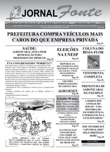 Edição 51 - Jornal Fonte