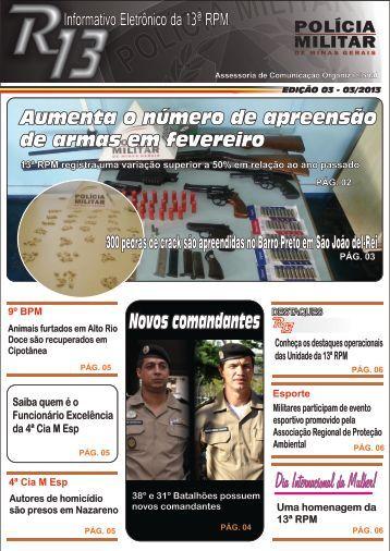 Novos comandantes - Polícia Militar de Minas Gerais