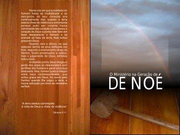 O Ministério na Geração de Noé - A Palavra de Deus e de Graca