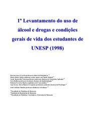 Levantamento Uso de Álcool e Drogas Alunos - Projeto Viver Bem ...